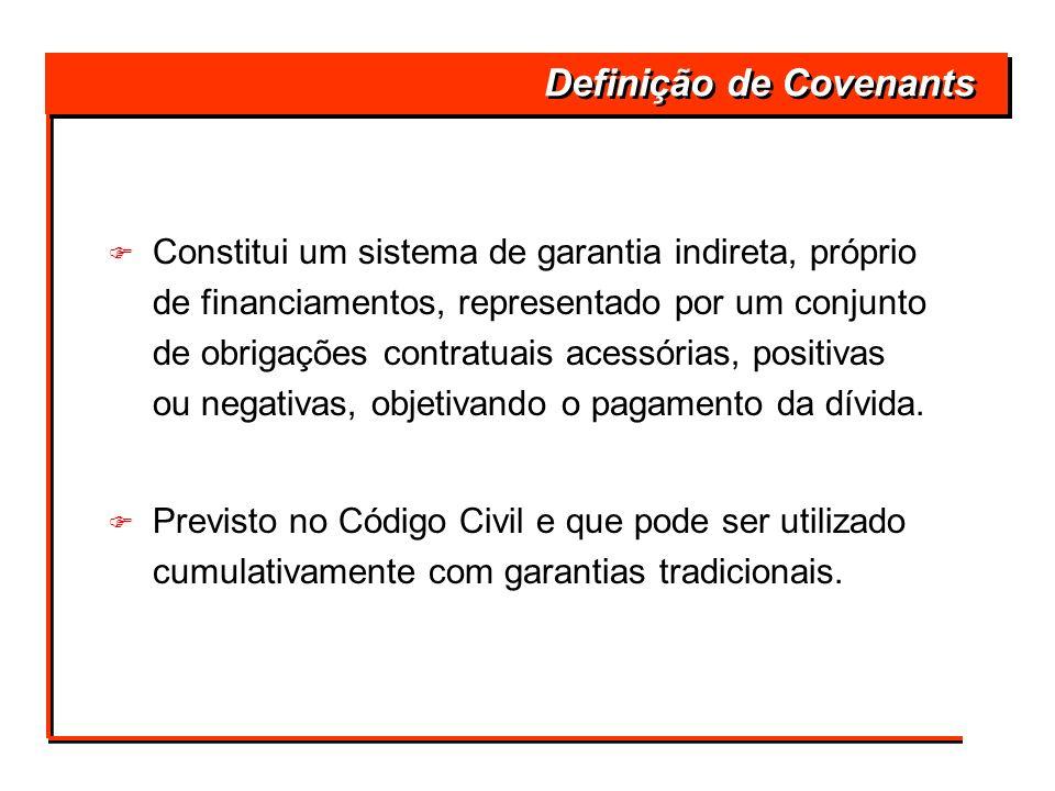 Definição de Covenants