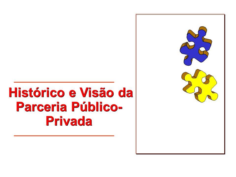 Histórico e Visão da Parceria Público-Privada