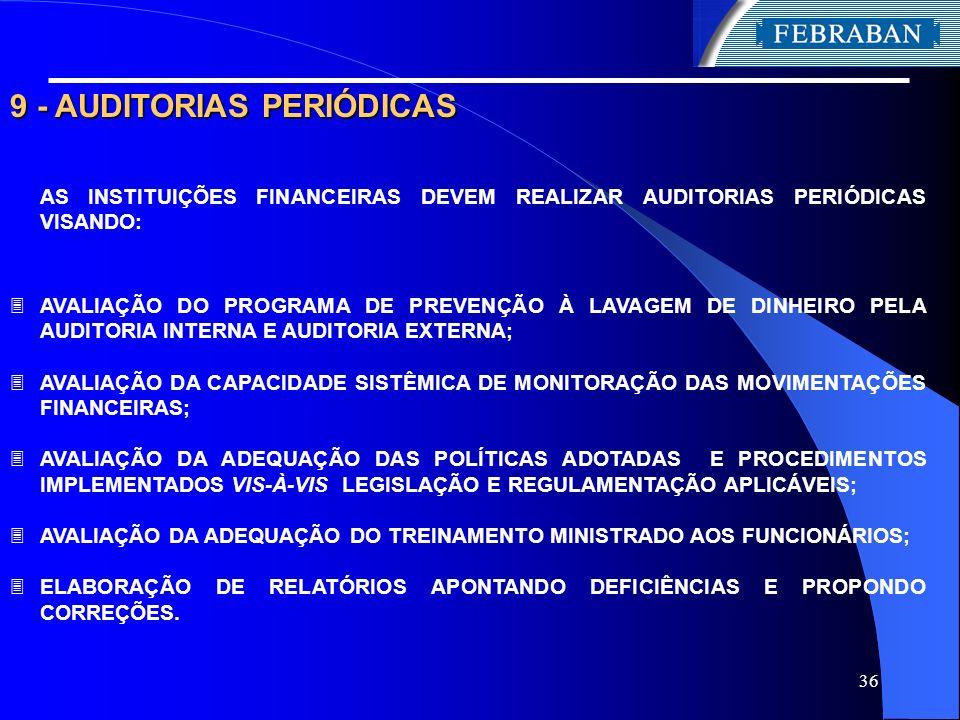 9 - AUDITORIAS PERIÓDICAS