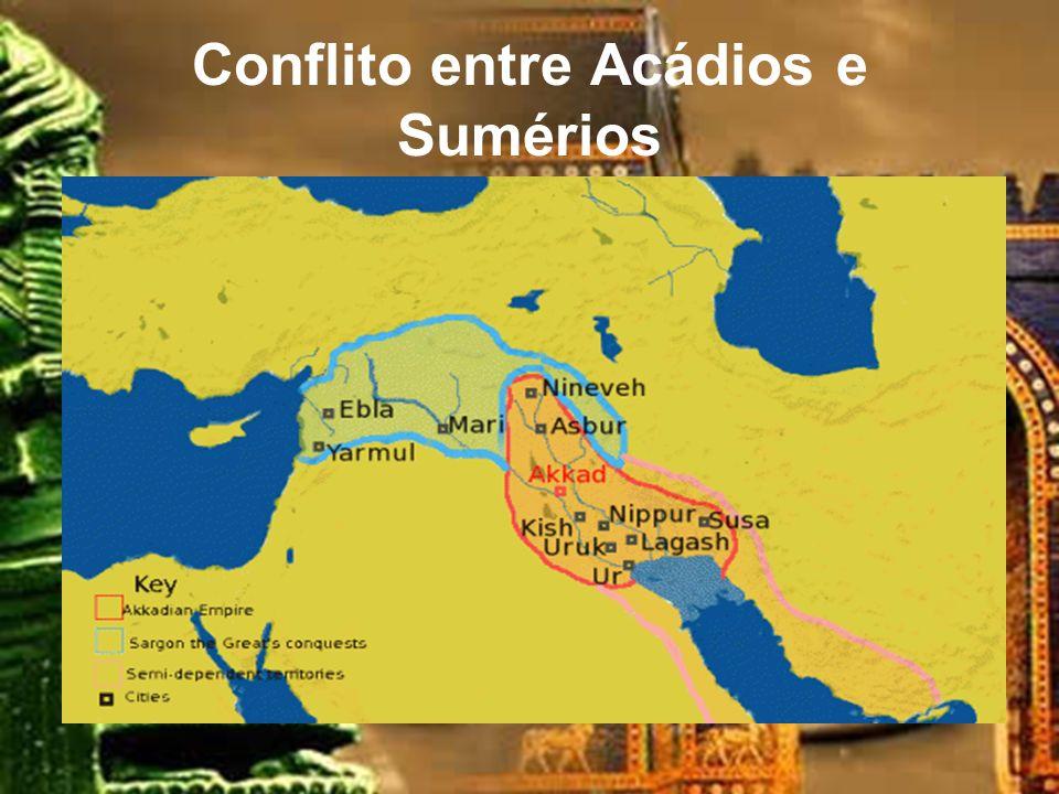 Conflito entre Acádios e Sumérios