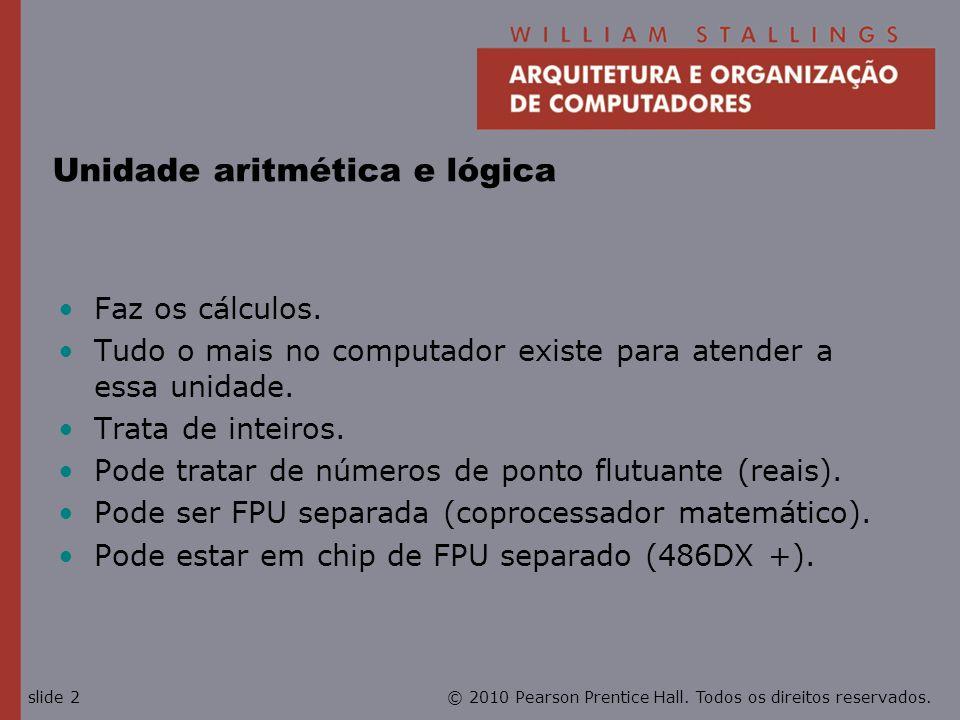 Unidade aritmética e lógica