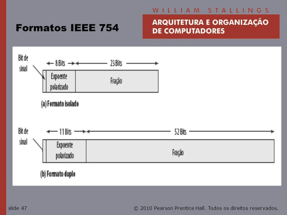 Formatos IEEE 754