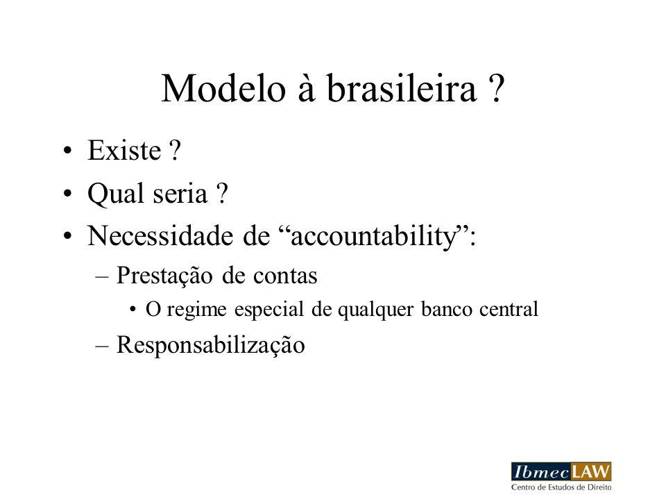 Modelo à brasileira Existe Qual seria