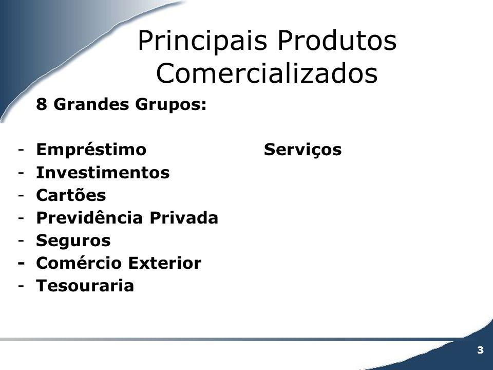 Principais Produtos Comercializados