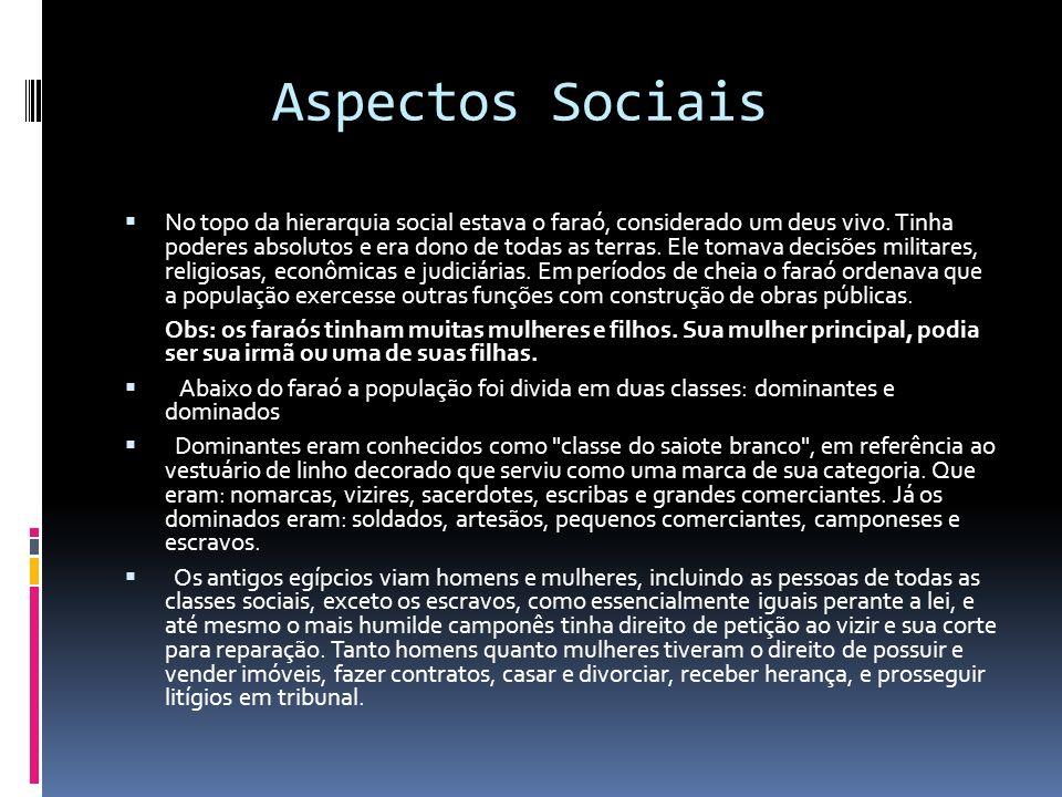 Aspectos Sociais