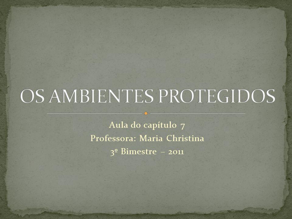 OS AMBIENTES PROTEGIDOS
