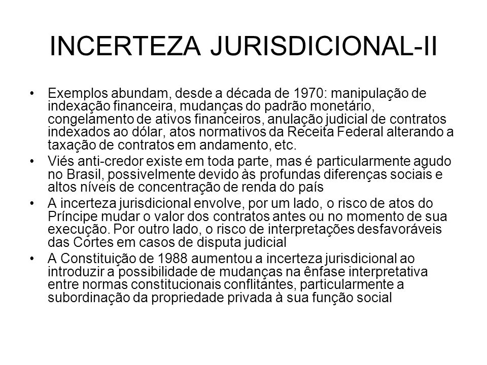 INCERTEZA JURISDICIONAL-II