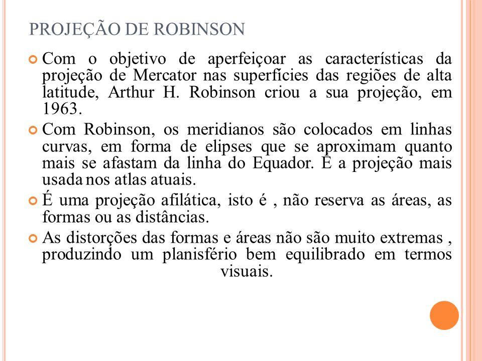 PROJEÇÃO DE ROBINSON