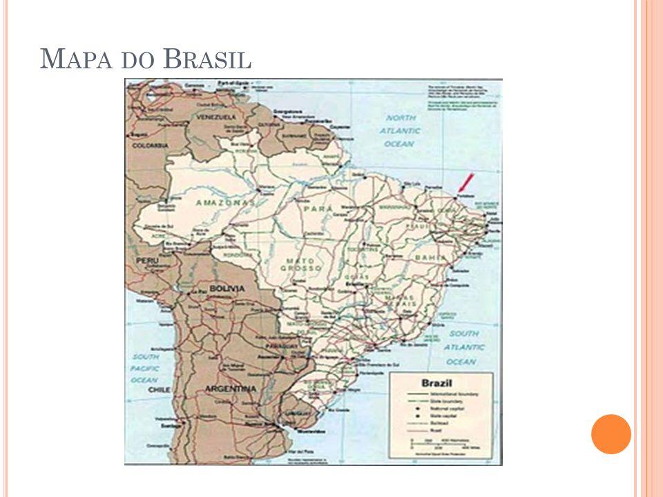 exemplo, um mapa do Brasil abaixo: