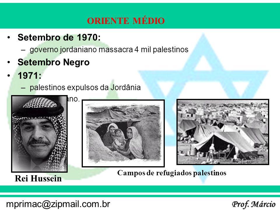 Setembro de 1970: Setembro Negro 1971: Rei Hussein