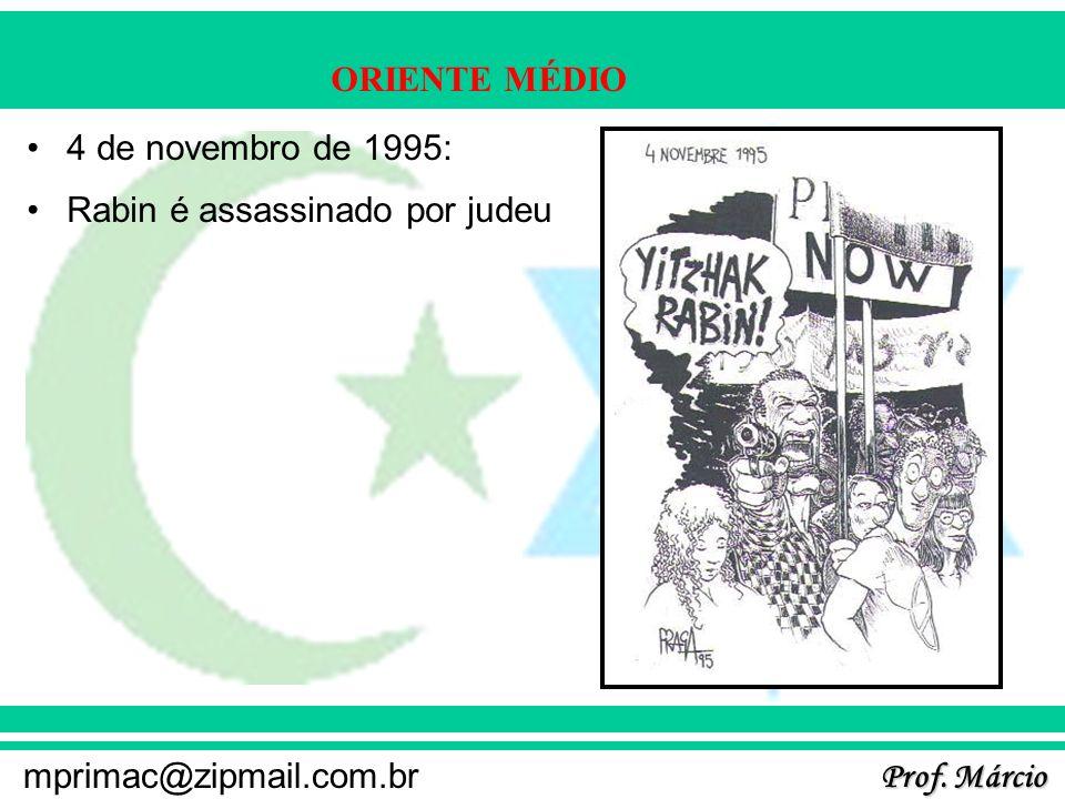 4 de novembro de 1995: Rabin é assassinado por judeu
