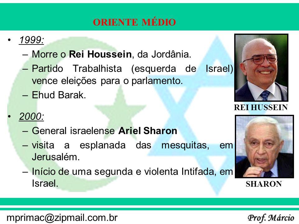 Morre o Rei Houssein, da Jordânia.