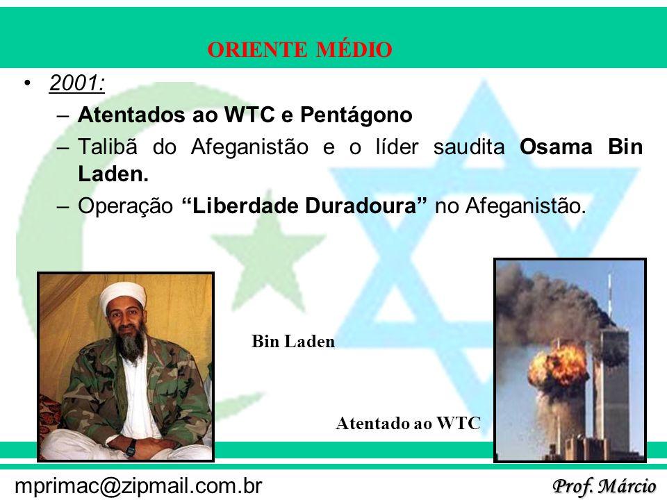 Atentados ao WTC e Pentágono