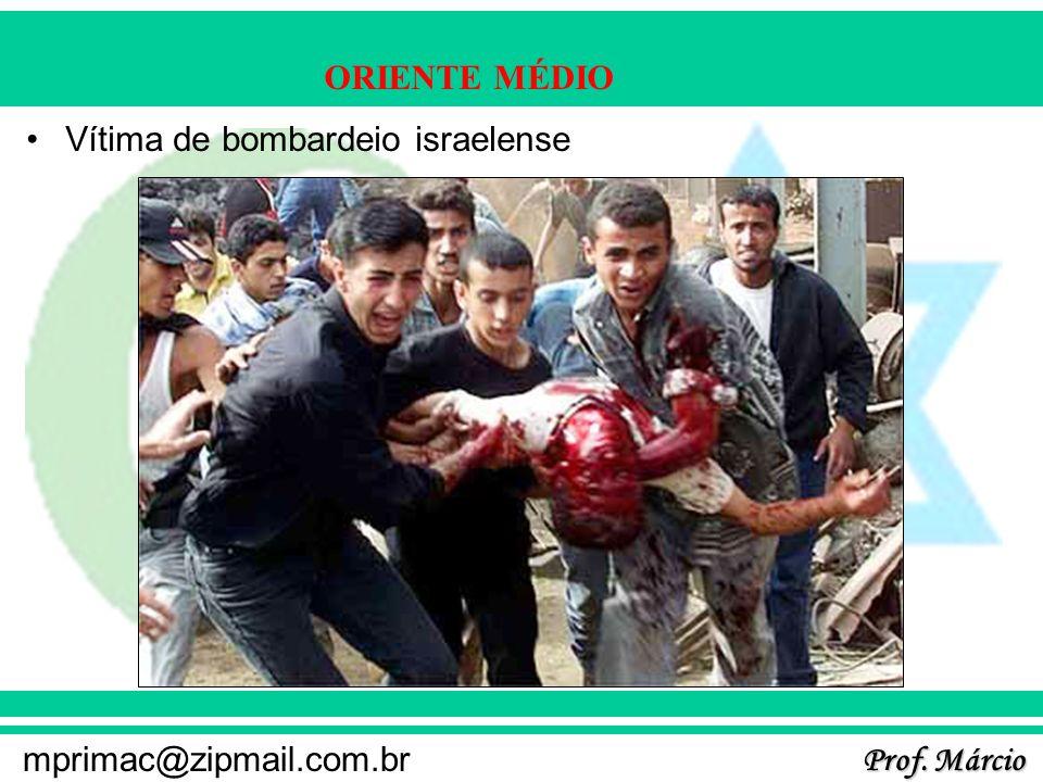 Vítima de bombardeio israelense