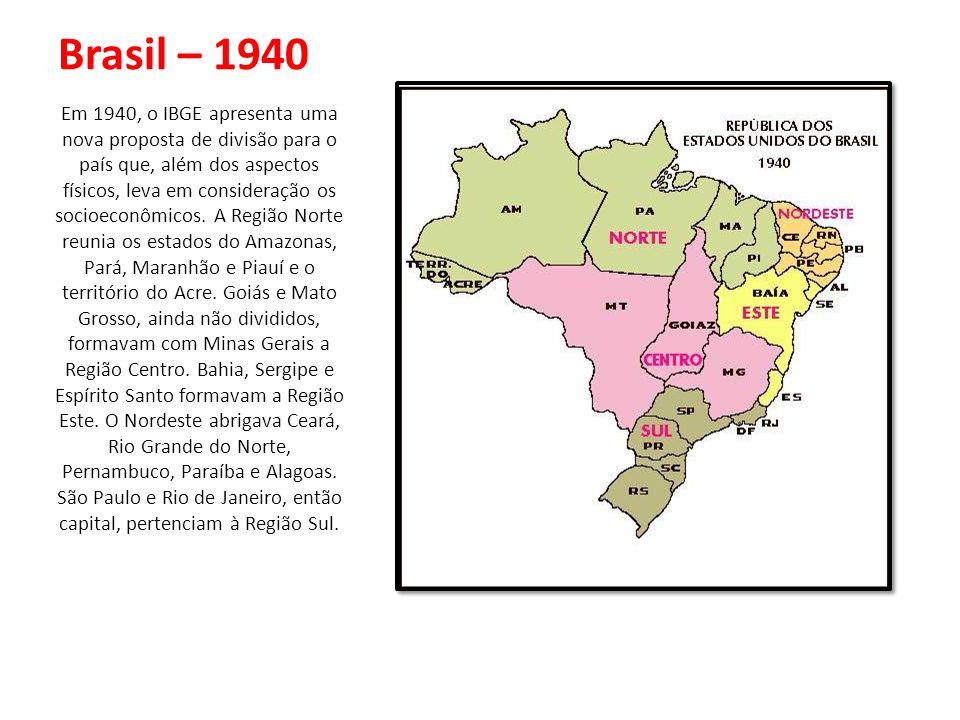 Brasil – 1940
