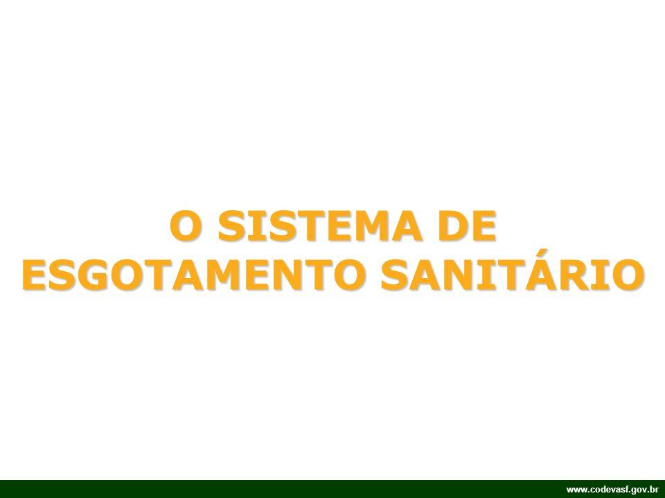 O SISTEMA DE ESGOTAMENTO SANITÁRIO