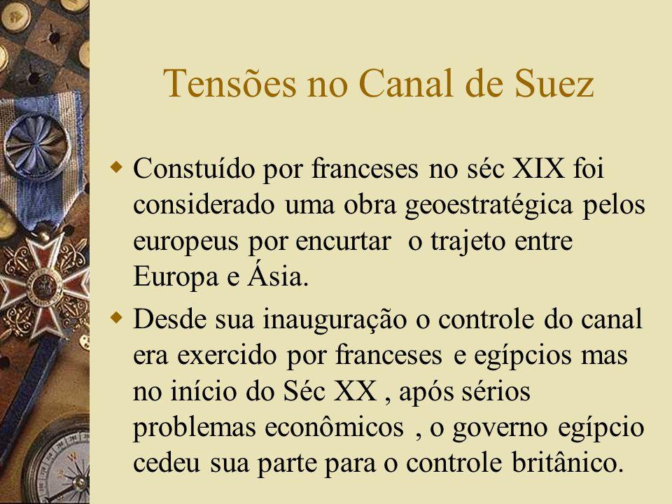 Tensões no Canal de Suez