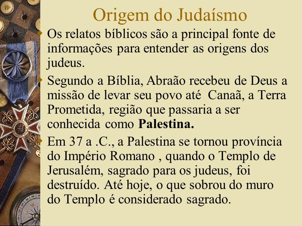 Origem do JudaísmoOs relatos bíblicos são a principal fonte de informações para entender as origens dos judeus.