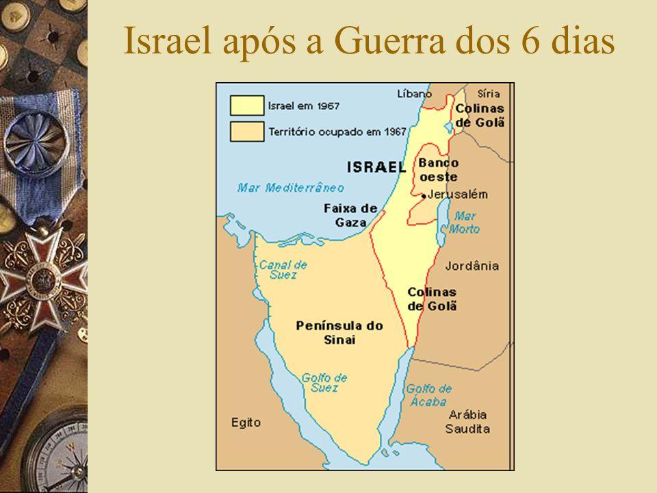 Israel após a Guerra dos 6 dias