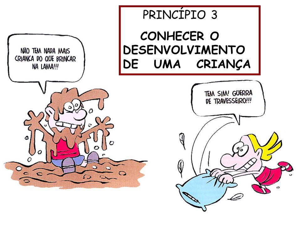 CONHECER O DESENVOLVIMENTO DE UMA CRIANÇA