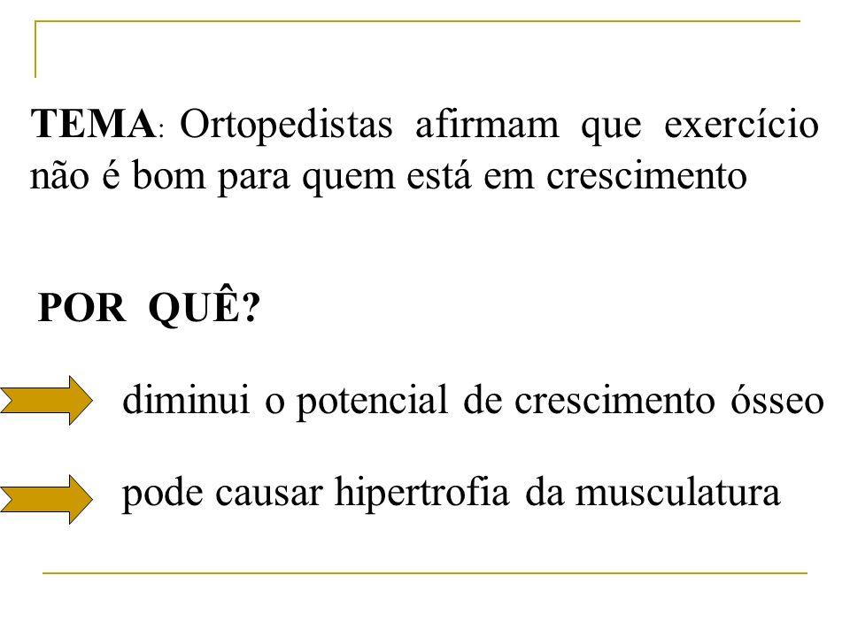pode causar hipertrofia da musculatura