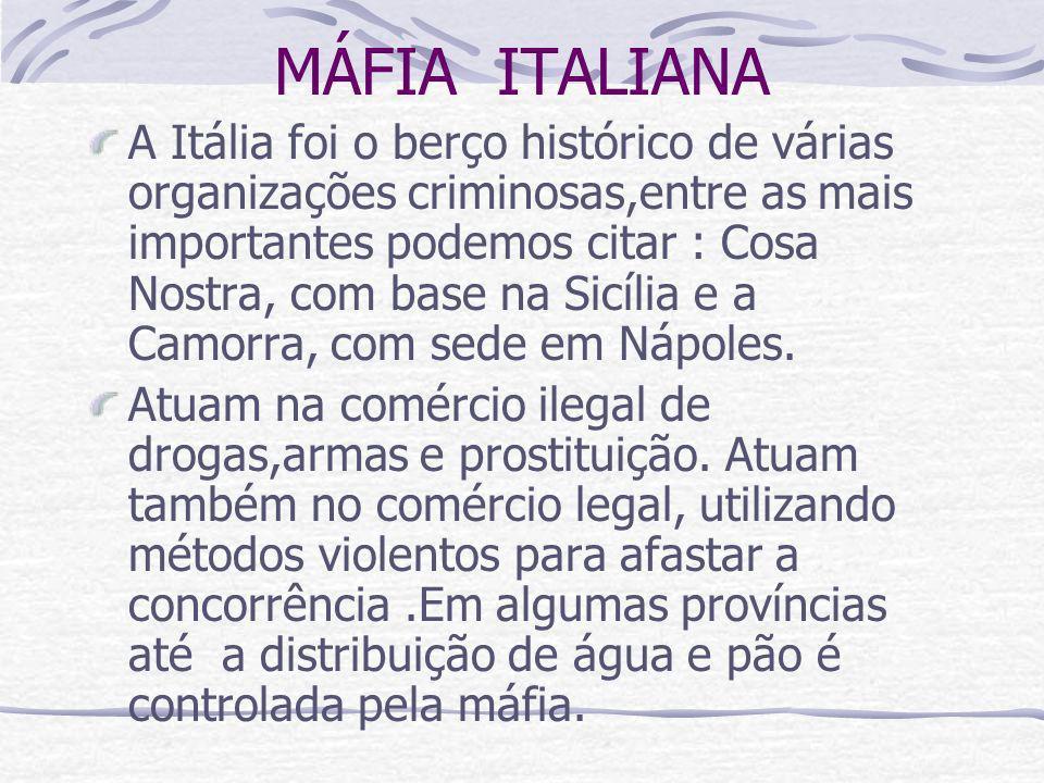 MÁFIA ITALIANA