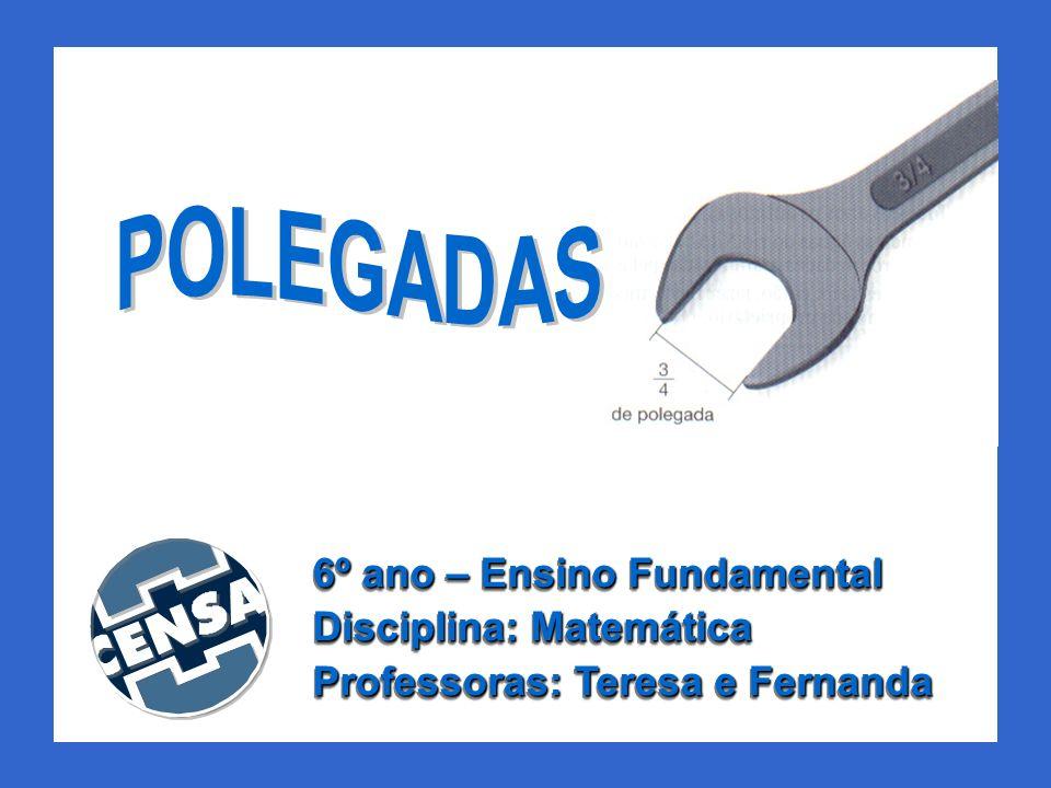 POLEGADAS 6º ano – Ensino Fundamental Disciplina: Matemática