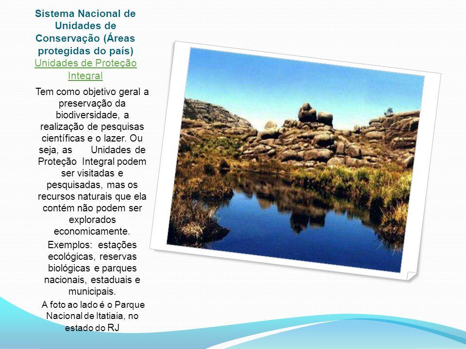 A foto ao lado é o Parque Nacional de Itatiaia, no estado do RJ