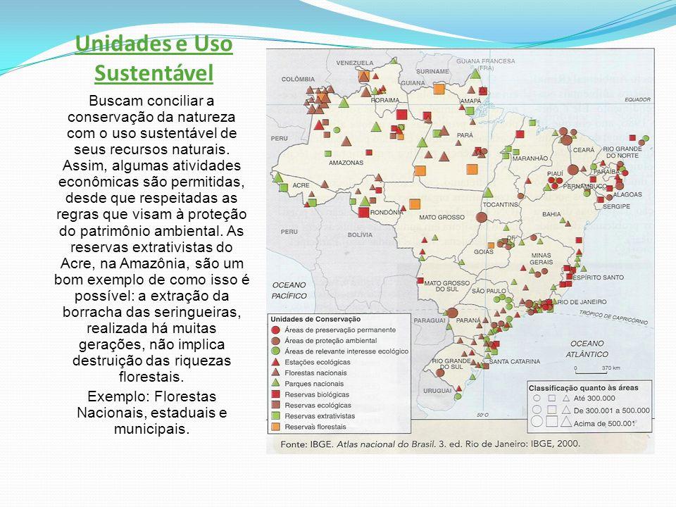 Unidades e Uso Sustentável