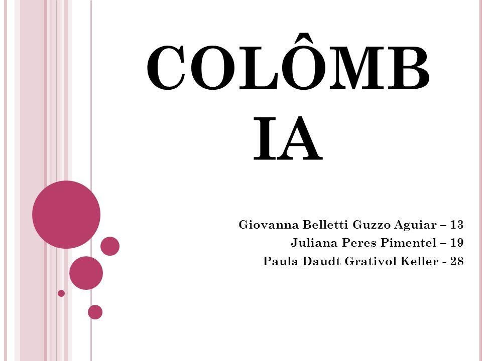 COLÔMBIA Giovanna Belletti Guzzo Aguiar – 13