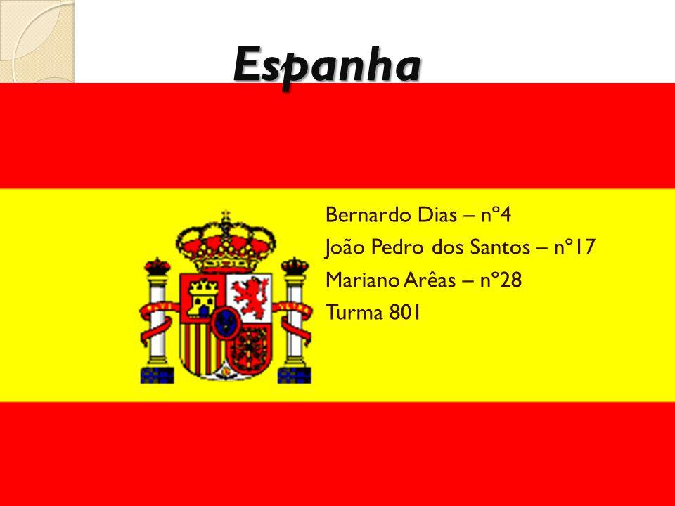Espanha Bernardo Dias – nº4 João Pedro dos Santos – nº17