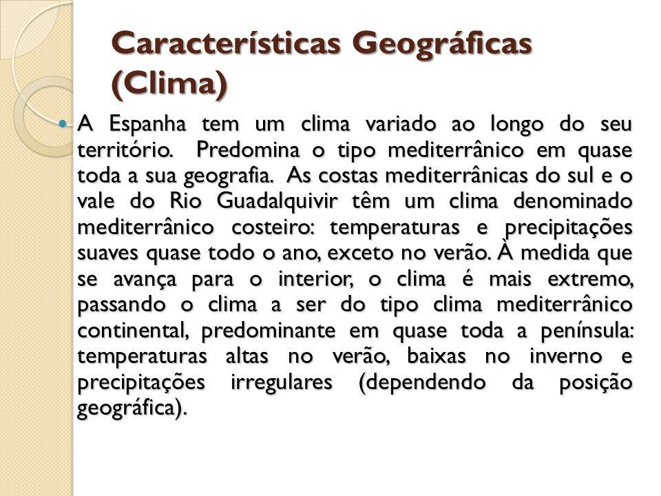 Características Geográficas (Clima)