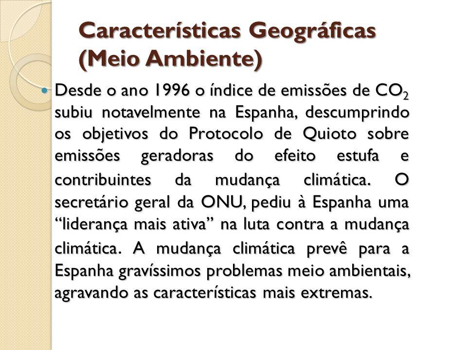 Características Geográficas (Meio Ambiente)