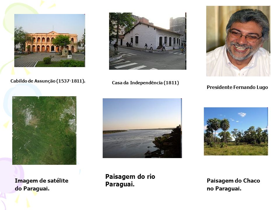 Paisagem do rio Paraguai.