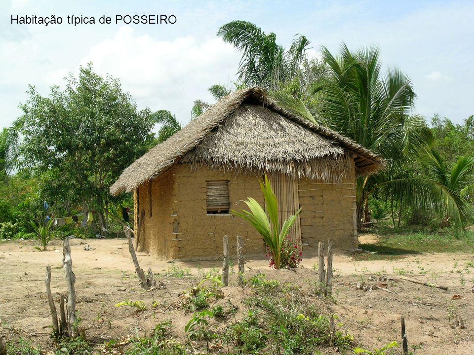 Habitação típica de POSSEIRO