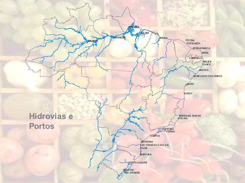 Hidrovias e Portos