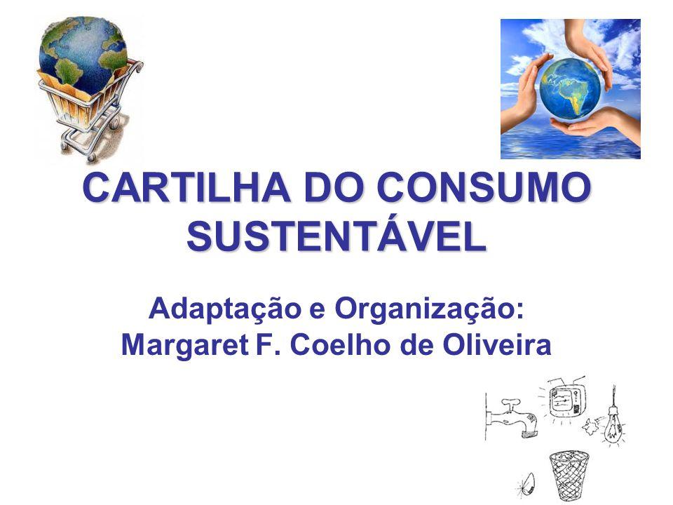 CARTILHA DO CONSUMO SUSTENTÁVEL
