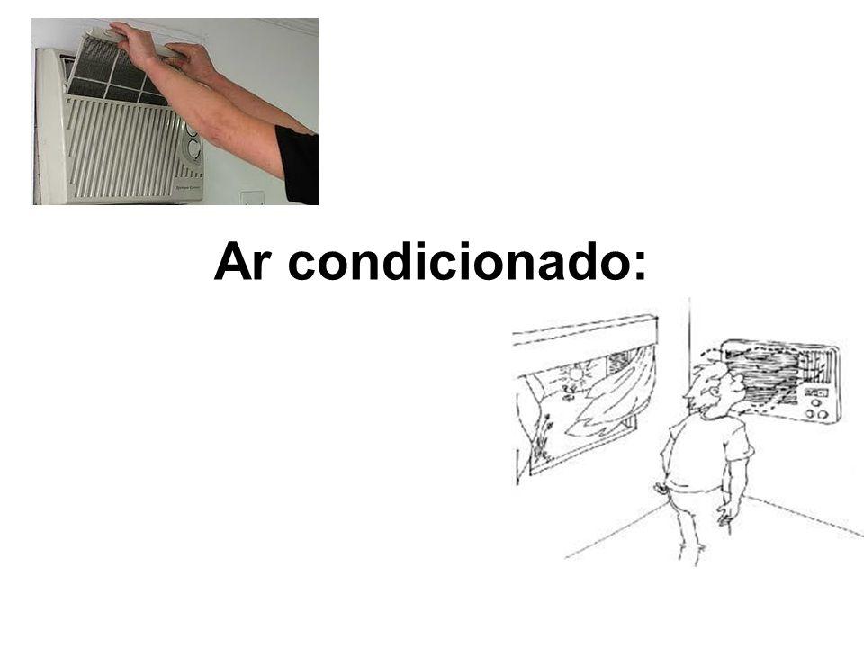 Ar condicionado:
