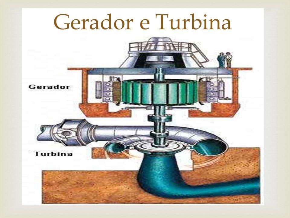 Gerador e Turbina