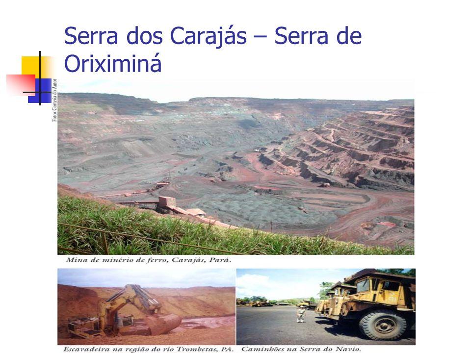 Serra dos Carajás – Serra de Oriximiná