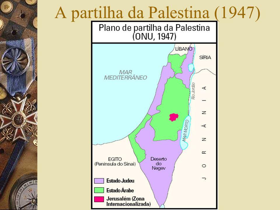 A partilha da Palestina (1947)