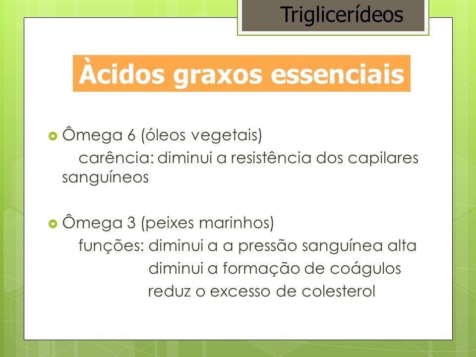 Àcidos graxos essenciais