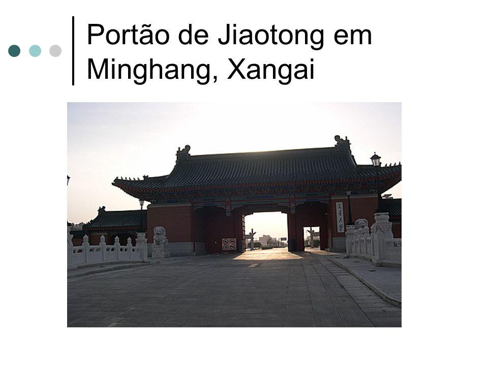 Portão de Jiaotong em Minghang, Xangai