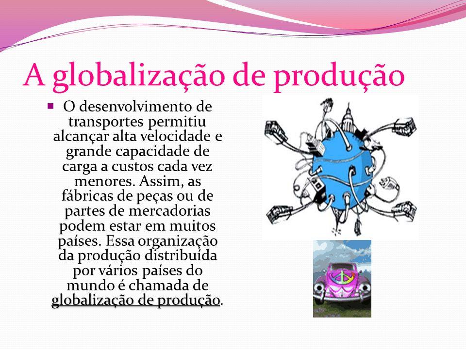 A globalização de produção
