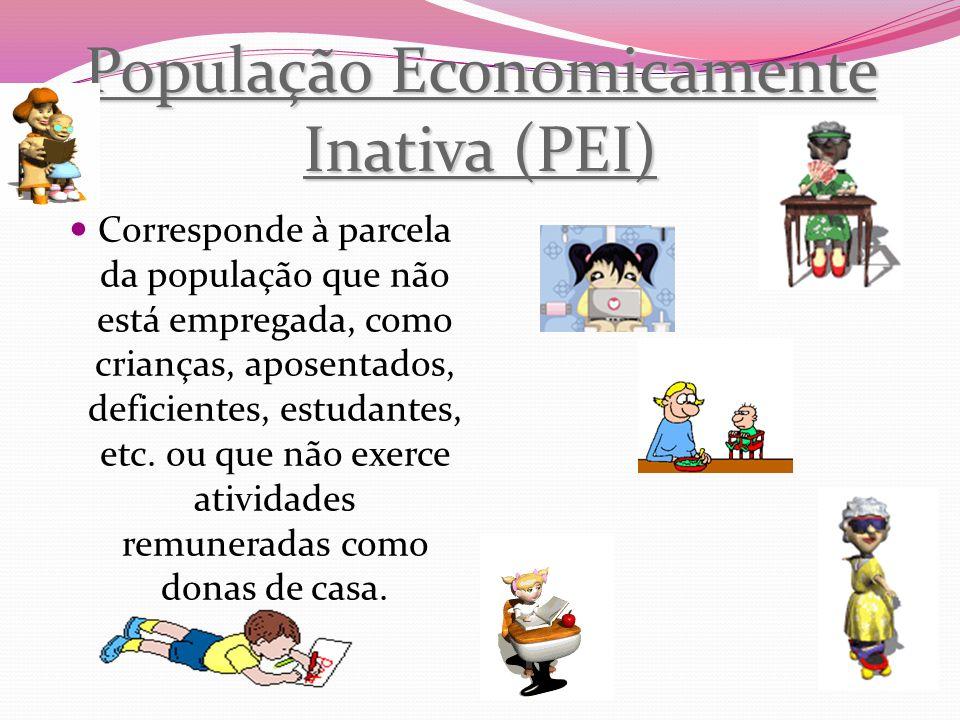 População Economicamente Inativa (PEI)
