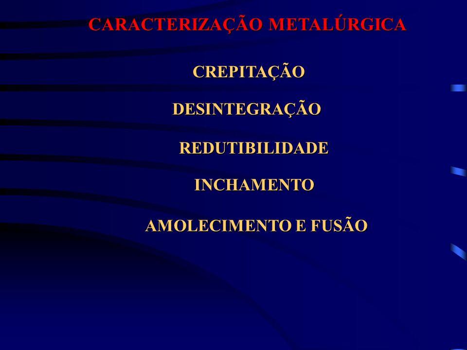 CARACTERIZAÇÃO METALÚRGICA