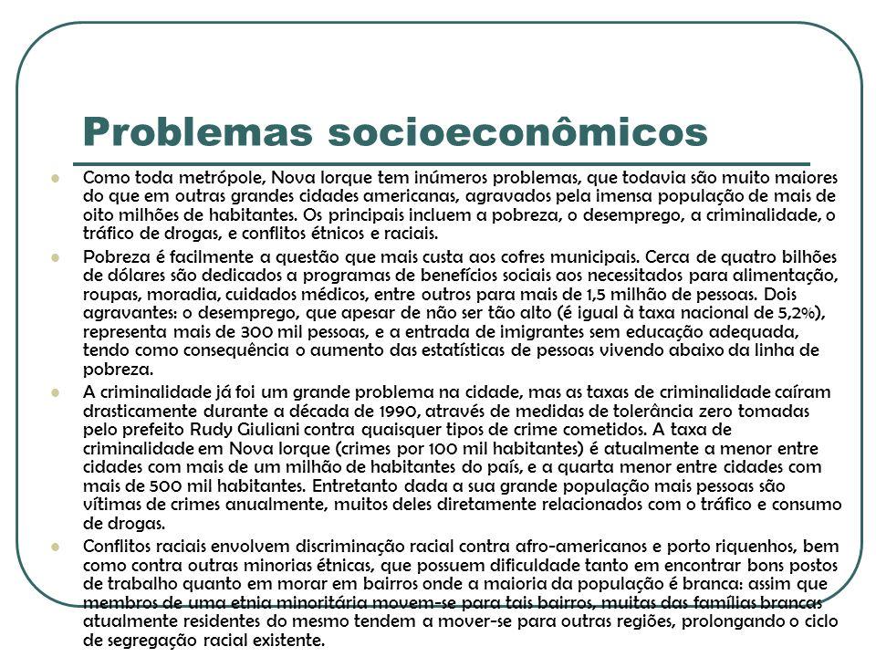 Problemas socioeconômicos