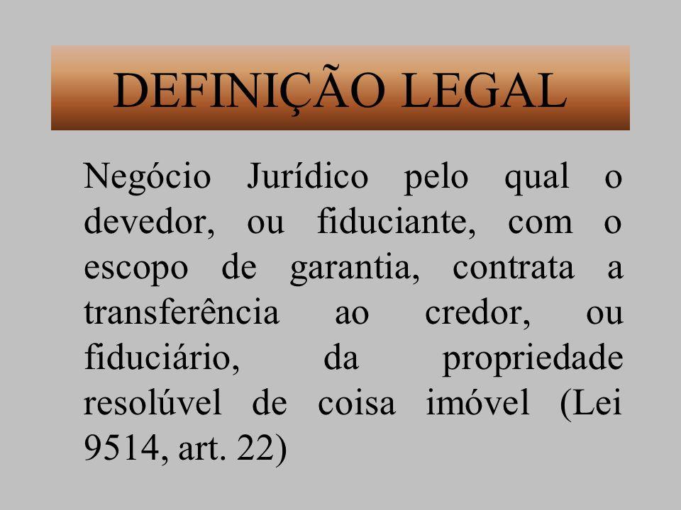 DEFINIÇÃO LEGAL