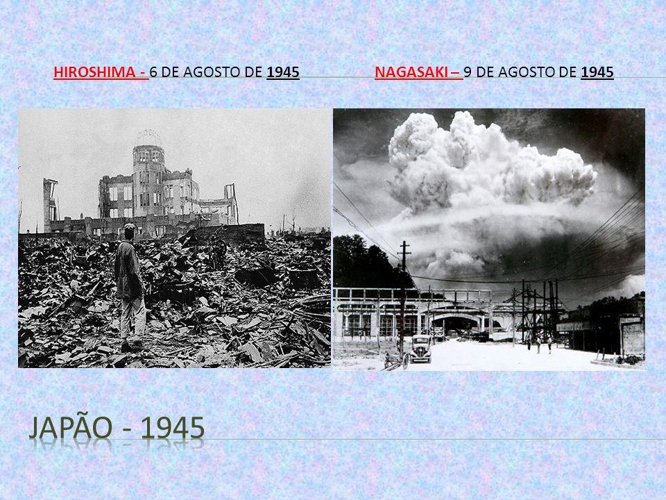 Hiroshima - 6 de agosto de 1945