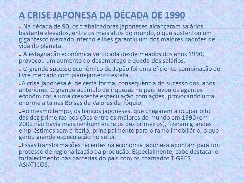 A crise japonesa da década de 1990